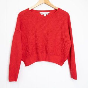 Max Studio Extra Fine Merino Wool Sweater, Large
